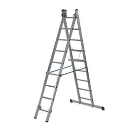 Алуминиеви стълби двураменни