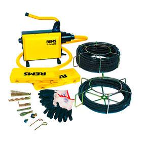 Машини за почистване на тръби и канали електрически
