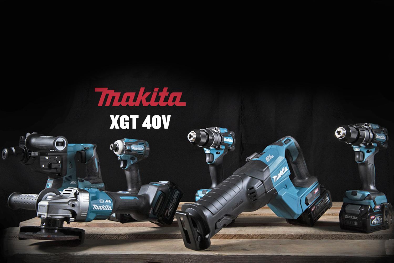 Нови продукти MAKITA 40V серия XGT вече на пазара - технология от ново поколение