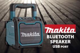 MAKITA обнови опцията за употреба на батерии при радиата,чрез представяне на най-новите си устройства с Bluetooth.