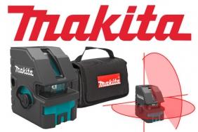 MAKITA стартира новият си линеен четири-точков  самонивелиращ  лазер SK103PZ