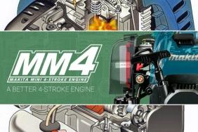 MM4 – Мини четиритактовите мотори на Makita