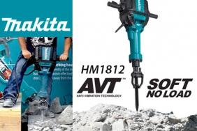 Новият къртач на MAKITA HM1812 с AVT –  Най-мощният и безопасен в класът.