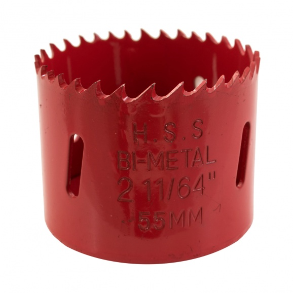 Боркорона биметална KEIL 54мм, за дърво и цветни метали, HSS, Bi-Metal