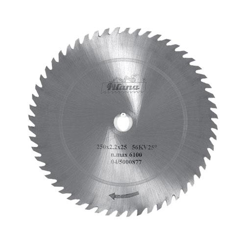 Диск циркулярен PILANA 350x2.2x30мм Z=56, за рязане на мека и твърда дървесина, инстр. стомана, вълчи зъб