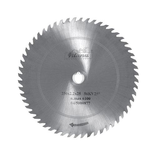 Диск циркулярен PILANA 400x2.5x30мм Z=56, за рязане на мека и твърда дървесина, инстр. стомана, вълчи зъб