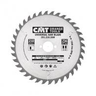 Диск с твърдосплавни пластини CMT 130/2.4/20 Z=20, за рязане на мека и твърда дървесина, шперплат