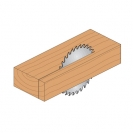 Диск с твърдосплавни пластини CMT 150/2.4/20 Z=24, за рязане на мека и твърда дървесина, шперплат - small, 87859