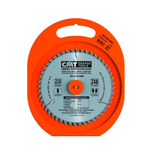 Диск с твърдосплавни пластини CMT 160/2.2/20 Z=24, за рязане на мека и твърда дървесина, шперплат - big, 87868