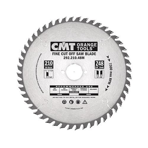 Диск с твърдосплавни пластини CMT 160/2.2/30 Z=40, за рязане на мека, твърда и екзотична дървесина, дървесни плоскости