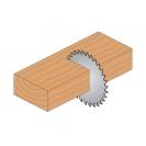 Диск с твърдосплавни пластини CMT 160/2.2/30 Z=40, за рязане на мека, твърда и екзотична дървесина, дървесни плоскости - small, 87379