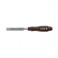 Длето плоско NAREX PLAST LINE PROFI 14мм, с пластмасова дръжка, Cr-Mn