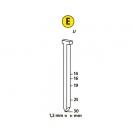 Гвоздей за такер NOVUS J/19мм, тип J/Е, 1000бр./блистер - small, 94559