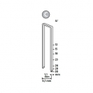 Кламери NOVUS 4/26мм 1100бр., тип 4/C, с тесен гръб, блистер - small, 94332