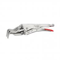 Клещи чираци за заварки RENNSTEIG 10-90/280мм, CrV, 4-челюсти,  никелирани, дръжки без покритие