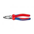 Клещи комбинирани KNIPEX 200мм, ф2.5/3.8мм, ф13мм/16мм2, CS, двукомпонентнa дръжкa - small