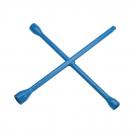 Ключ за джанти кръстат UNIOR 17x19x22x24мм, CrV, вътрешен шестостен-квадрат, закален, лакиран - small