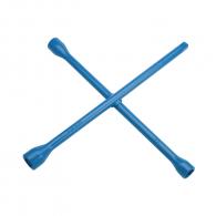 Ключ за джанти кръстат UNIOR 24x27x30x32мм, CrV, вътрешен шестостен-квадрат, закален, лакиран