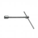 Ключ за джанти Т-образен UNIOR 30мм, CrV, закален, хромиран - small