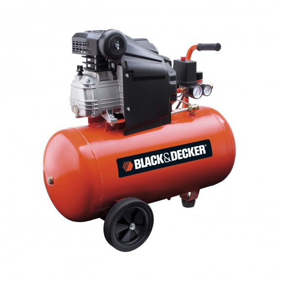 Компресор BLACK&DECKER BD 205/50, 50l, 8bar, 210 l/min, 1.5kW, 2.0hp, 230V