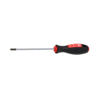 Отверткa торкс с отвор NAREX TWIN PLAST TX15 4.0х170/80мм, стомана, двукомпонентна дръжка