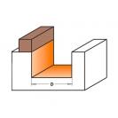 Профилен фрезер CMT D=16мм L=54мм I=19мм S=8мм Z=2, HW, RH - small, 19480