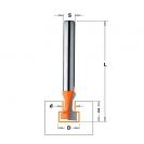 Профилен фрезер CMT D=9.5мм d=4.8мм L=54мм I=11мм S=8мм Z=1, HW, RH - small, 18844