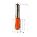 Профилен фрезер CMT D=9.5мм L=51мм R=4.75мм I=6.4мм S=8мм Z=2, HWM, RH - small, 18841