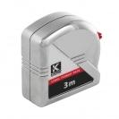Ролетка пласмасов корпус KAPRO 500 Measuring 3м x 16мм, хромиран - small, 143456