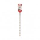 Свредло DREBO 4 PLUS 10x450/400мм, за бетон, HM, 2 режещи ръба, SDS-plus - small, 114091