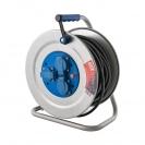 Удължител на макара TAYG Metal 50м, 3х2.5, H05VV-F, 3 монофазни контакта, IP55 - small, 146041