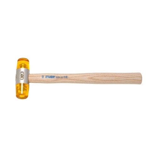 Чук пластмасов UNIOR ф40мм, с дървена дръжка