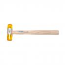 Чук пластмасов UNIOR ф40мм, с дървена дръжка - small