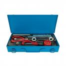 Инструменти за рязане и разширяване на медни тръби UNIOR, тръборез 3-32мм, разширител 4.75-14мм - small