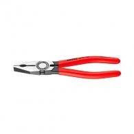Клещи комбинирани KNIPEX 180мм, ф2.2/3.4мм, ф12мм/16мм2, CS, еднокомпонентна дръжка