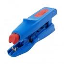 Клещи за заголване на кабели UNIOR 0.5-6.0кв.мм, автоматични, изолирани, вграден резач за кабели до 2.0кв.мм - small, 103804