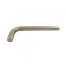 Ключ Г-образен UNIOR 4.0мм, шестостен, никелиран, закален, CrV - small, 44145