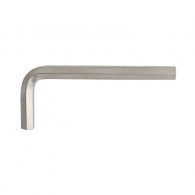 Ключ Г-образен UNIOR 6.0мм, шестостен, никелиран, закален, CrV