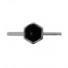 Ключ за свещи UNIOR 16/145мм, CS, хромиран - small, 102789