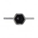 Ключ за свещи UNIOR 19/115мм, CS, хромиран - small, 102794