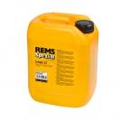 Масло минерално REMS Spezial 10л, за нарязване на резба - small