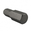Накрайник шестограм за ударна отвертка UNIOR 10x30мм, C8, CS - small, 42281