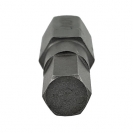 Накрайник шестограм за ударна отвертка UNIOR 6.0x30мм, C8, CS - small, 41023