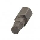 Накрайник шестограм за ударна отверткаUNIOR 5.0x30мм, C8, CS - small, 109502