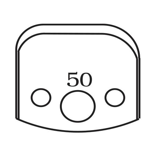 Нож профилен PILANA 50, 40x4мм, инструментална стомана