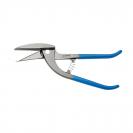 Ножица ръчна за ламарина UNIOR 290мм, 1.5мм, CS, права  - small
