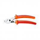 Ножица за кабели UNIOR 230мм, ф17мм, CS, закалени, хромирани, двукомпонентна дръжка, изолирани 1000V - small
