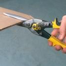 Ножица за ламарина STANLEY FatMax 275мм, 1.2мм, Cr-Mo, права - small, 36642