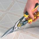 Ножица за ламарина STANLEY FatMax 275мм, 1.2мм, Cr-Mo, права - small, 36643