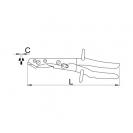 Ножица ръчна за ламарина UNIOR 250мм, 1.2мм, права - small, 38639